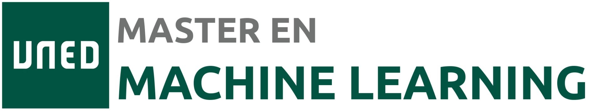 Master en Machine Learning UNED
